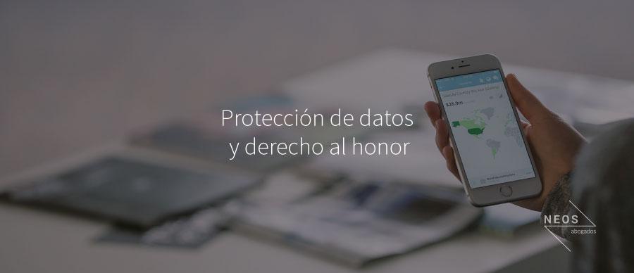 Otra historia sobre protección de datos y derecho al honor